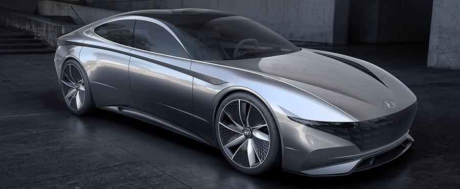 """Photo of Presentó Hyundai """"Le Fil Rouge"""", su nuevo concepto para el diseño de sus vehículos"""
