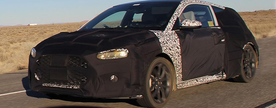 Photo of Fotos espías de: Hyundai Veloster Turbo, rediseñado