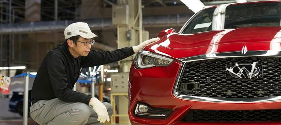 Photo of Arranca la producción del nuevo coupé deportivo INFINITI Q60 en la planta de Tochigi, Japón