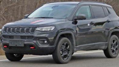Photo of Aquí hay un primer vistazo al Jeep Compass Trailhawk '22 sin disfraz listo para la sala de exposición