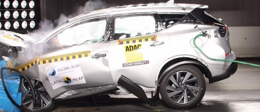 Photo of Obtiene Nissan Murano solamente dos estrellas para protección de ocupante adulto