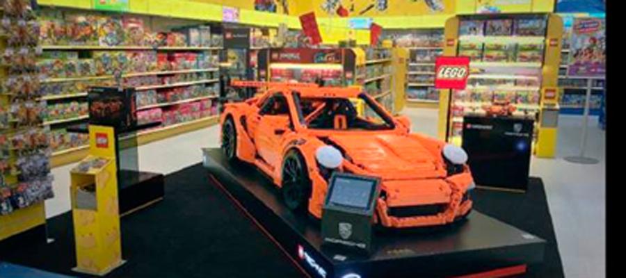 Photo of Llega a México el Porsche de tamaño real hecho con LEGO®