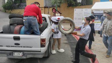 Photo of Concluye Llantatón 2021 con 65 toneladas de neumáticos acopiadas