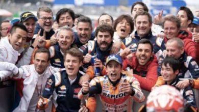 Photo of Da la victoria 300 Márquez a Honda en Moto GP