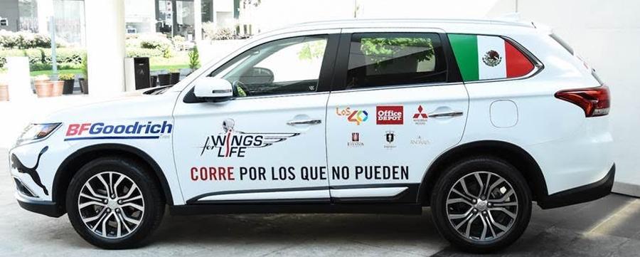 Photo of Mitsubishi Motors México patrocinador oficial de Wings For Life World Run 2017