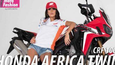 Photo of La Africa Twin se luce con la mexicana Sofía Sepúlveda