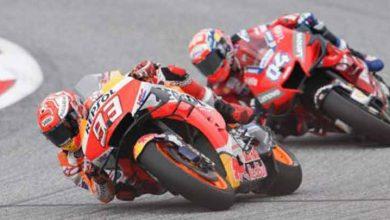 Photo of Arrebata Dovizioso la victoria a Márquez en la última curva del MotoGP de Austria