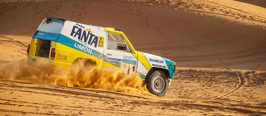 Photo of El campeón del Rally París-Dakar Nissan Patrol 1987,vuelve a las dunas del Sahara 30 años después