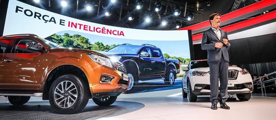 Photo of Presentan Nissan NP300 Frontier y el nuevo crossover Kicks en el marco del Auto Show de São Paulo 2016