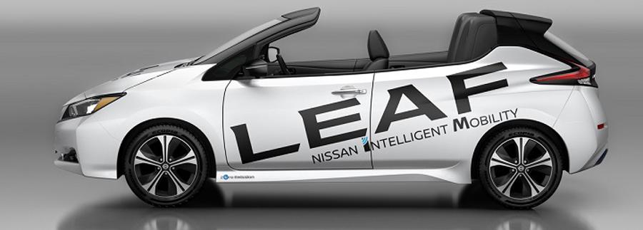 Photo of Presentan una versión descapotable del nuevo Nissan LEAF