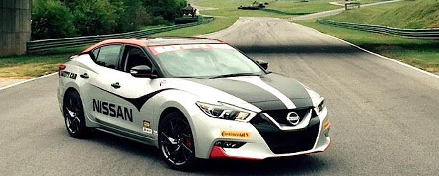 Photo of Participó Nissan Maxima 2016 como  vehículo de seguridad oficial en el Gran Premio Oak Tree