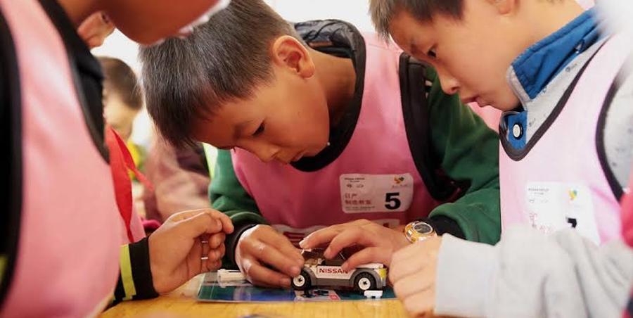 """Photo of Llevó Nissan a China el concepto """"Salón de Clases de Ensueño"""""""