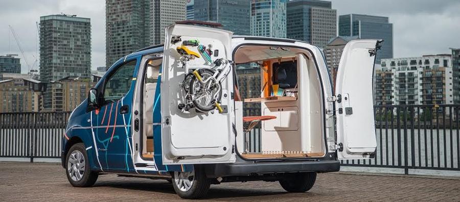 Photo of Presenta Nissan e-NV200 WORKSPACe