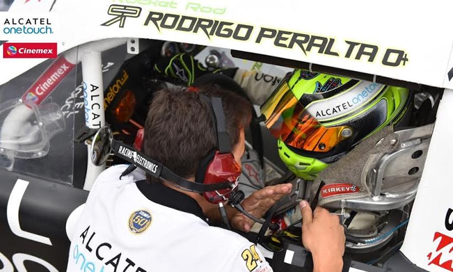Photo of Clasificó  Rodrigo Peralta en la HAAS CNC 200 para el Desafío 2015