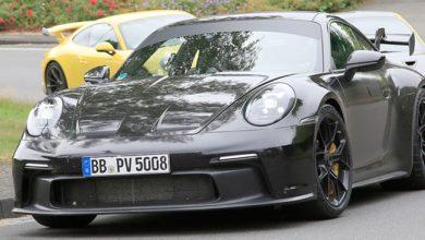 Photo of Porsche 911 GT3 capturado completamente libre de camuflaje