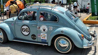 Photo of Alrededor de 120 autos clásicos recorrieron más de 300 kilómetros bajo el calor de la Riviera
