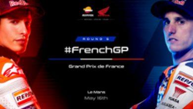 Photo of Repsol Honda Team preparado para el GP de Francia
