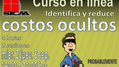 Photo of SICAA invita a tomar el curso en línea: Identifica y reduce los costos ocultos