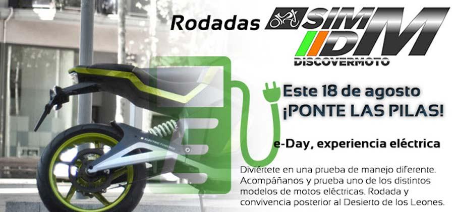 "Photo of Rodada SIMM Discovery Motos, e-Day ""experiencia eléctrica"