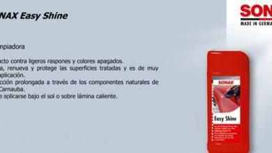 Photo of Cera Líquida Sonax Easy Shine, precio de promoción para nuestros lectores