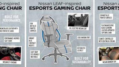 Photo of Diseña Nissan sillas para jugar videojuegos