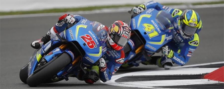 Photo of Consigue Suzuki Ecstar y Viñales la victoria del MotoGP en Reino Unido