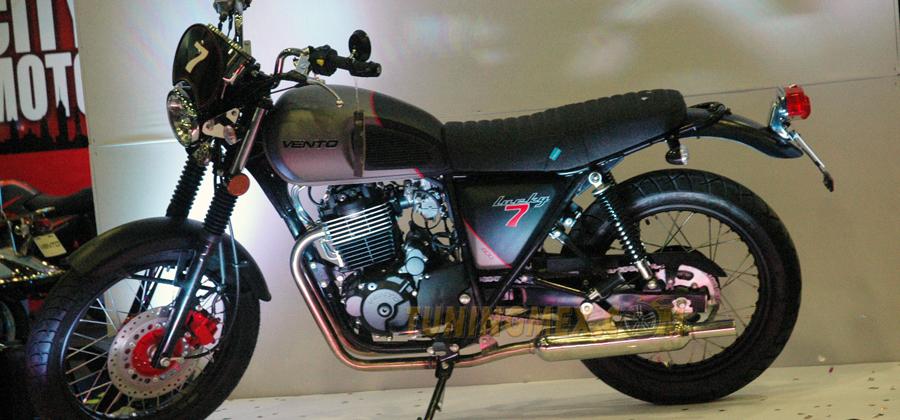 Photo of Presentó Vento la nueva Lucky7 400 Café Racer
