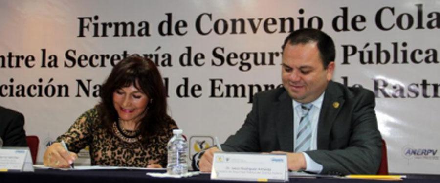 Photo of Firman convenio de colaboración  ANERPV y SSP-DF