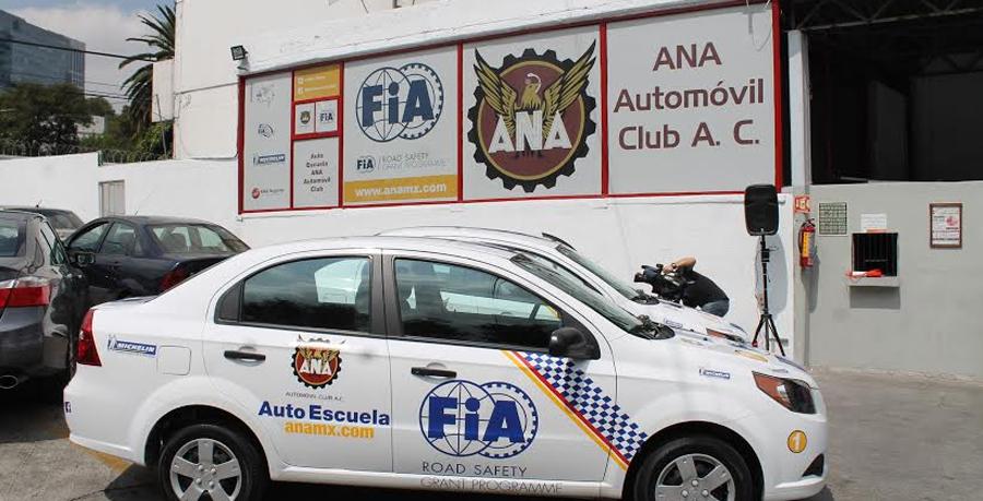 Photo of Inauguran  la escuela de manejo FIA-ANA