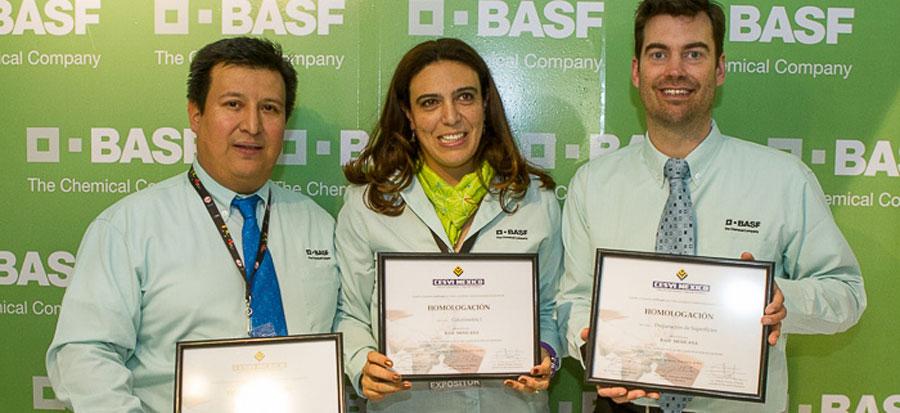 Photo of Recibió BASF división repintado automotriz certificados de homologación de cursos