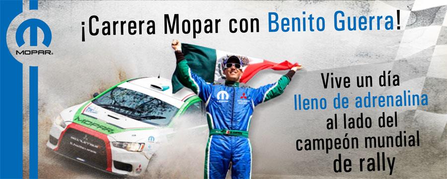"""Photo of Te invita Mopar México a vivir la """"Carrera Mopar con Benito Guerra"""""""