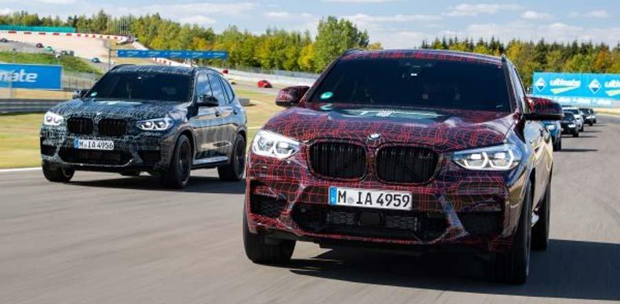 Photo of Calentando motores en Nürburgring: Primera presentación oficial del BMW X3 M y del BMW X4 M