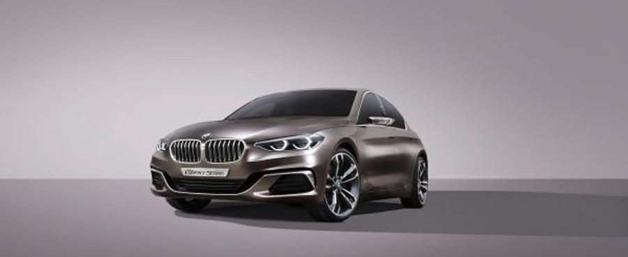 Photo of El BMW Concept Compact Sedan. Deportivo, elegante y exclusivo