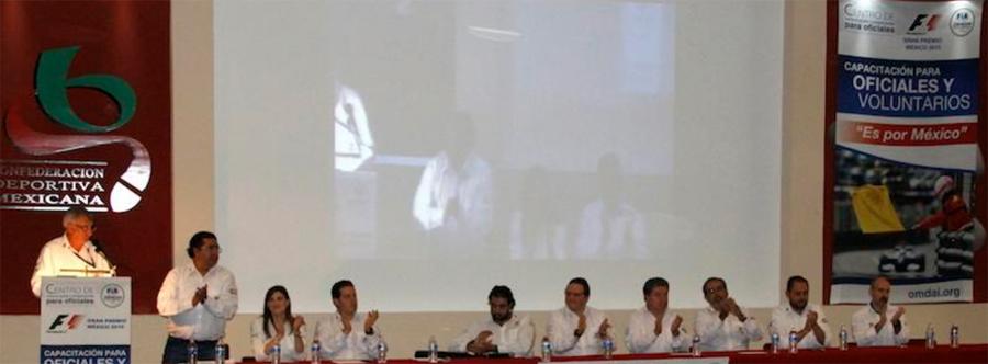 Photo of Inicia capacitación para oficiales y voluntarios rumbo al GP de México