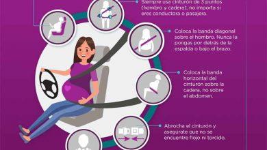 Photo of Sabes ¿Cómo usar el cinturón de seguridad en el embarazo?