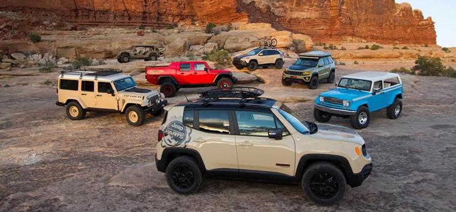 Photo of Primeras imágenes de los siete conceptos de Jeep® y Mopar en Utah