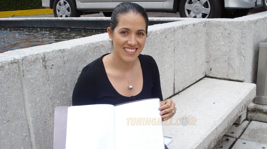 Photo of Una mujer navegante de rallys