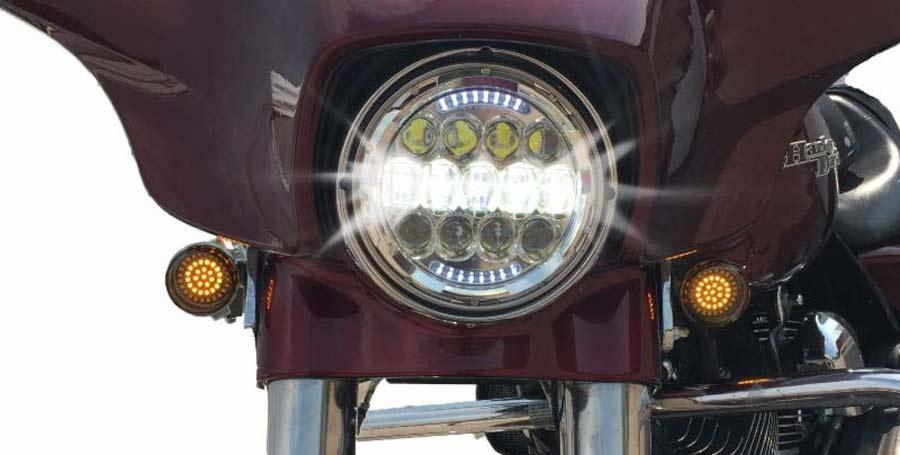 Photo of Presenta Cyron Motor led trasera  para Harley-Davidson