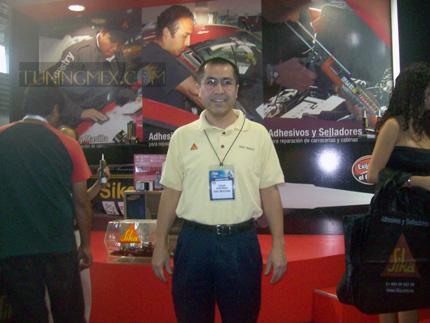 Oscar Albarrán  Beltrán, Gerente Comercial y Técnico Industry de Sika