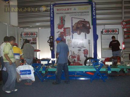 Rotalift & Intaljet presente con sus equipos automotrices