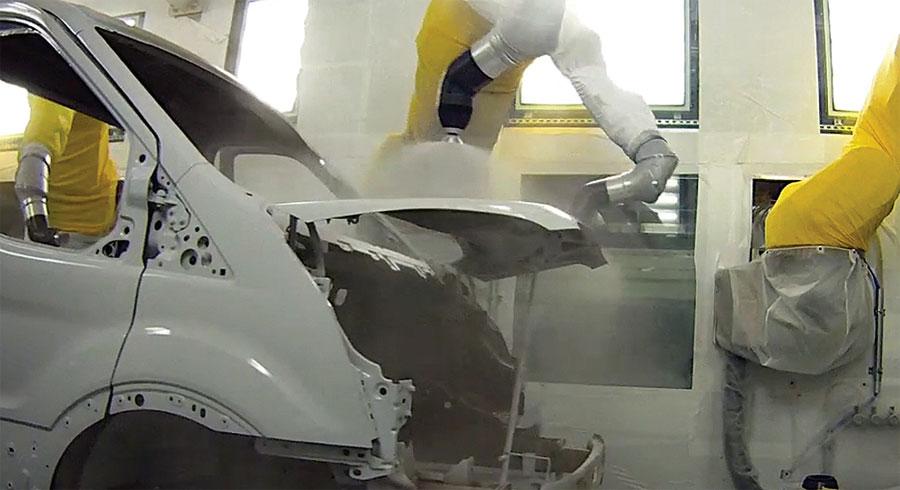 Photo of Presentará Ford nueva tecnología de pintura será utilizada en la próxima Ford Transit 2015