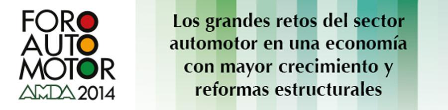 Photo of Reconocidos personajes serán ponentes del Foro Automotor AMDA 2014