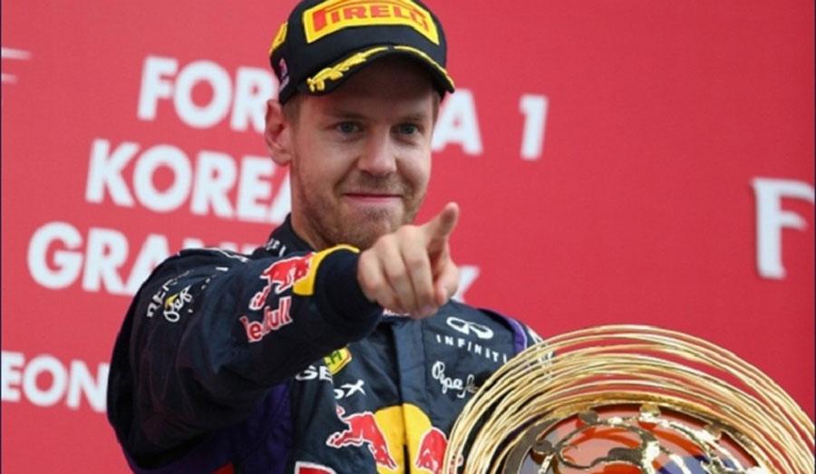 Photo of Infiniti Red Bull Racing gana el Gran Premio de Corea con la victoria de Sebastian Vettel en la F1