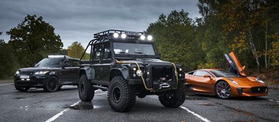 Photo of Presente Jaguar Land Rover en la nueva película de James Bond Spectre