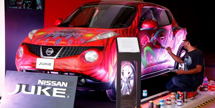 Photo of Apoyó Nissan Juke el talento y la pasión por el arte en la tercera edición del Affordable Art Fair México 2014