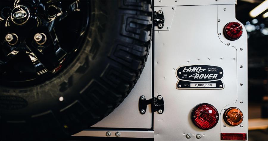Photo of Crea Land Rover un Defender único para celebrar dos millones de unidades producidas