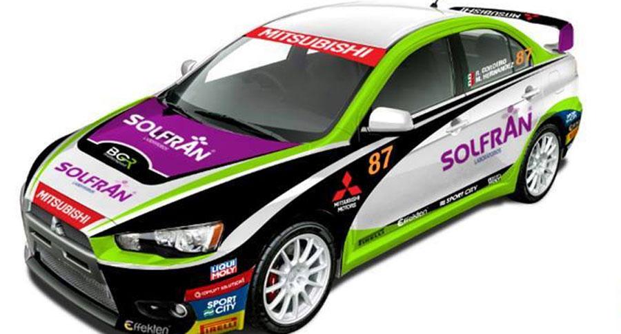 Photo of Termina BGR-Mitsubishi y Ricardo Cordero su puesta a punto para Rally de México 2014