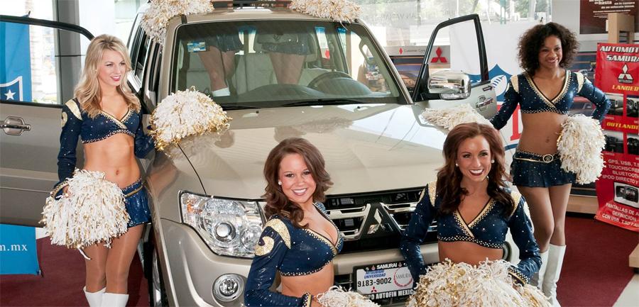 Photo of Realizó Mitsubishi Motors México exitoso cierre de temporada NFL 2011 – 2012
