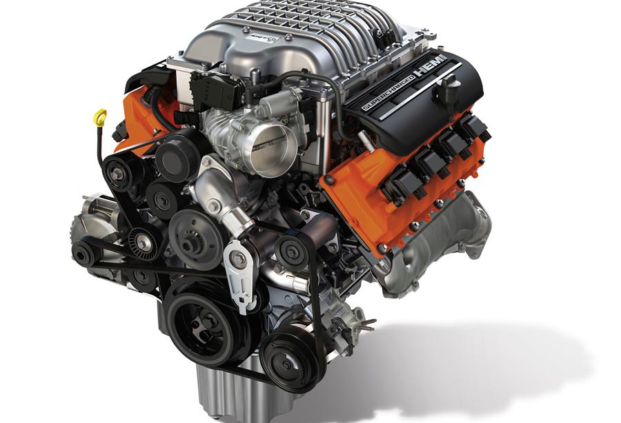 Photo of Presenta Mopar el 'Hellcrate' 6.2-liter Supercharged Crate HEMI® Engine Kit