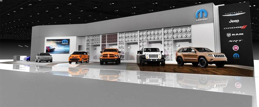 Photo of Presentan en el Auto Show de Detroit  Mopar Custom Shop, la exhibición más grande de su historia